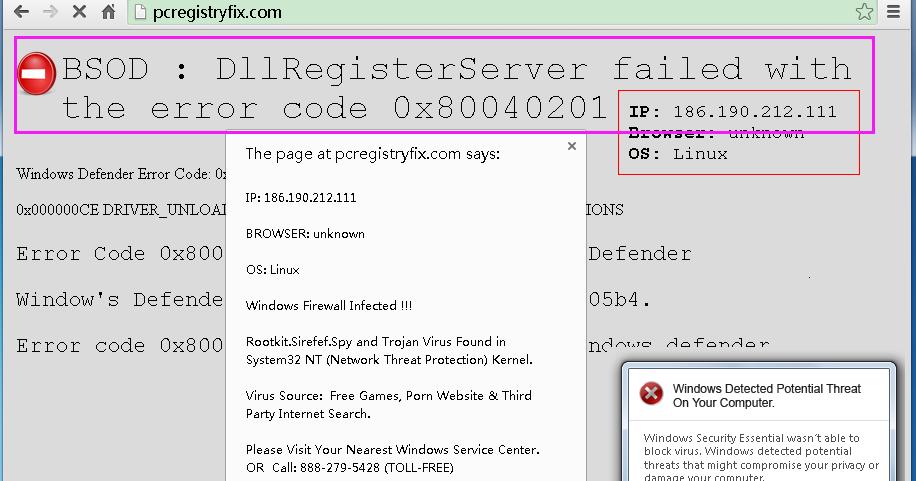 how to fix error code 0x80040201