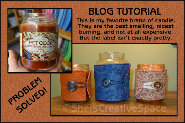 candle cozy, candle cozy tutorial, scrap buster, scrap buster tutorial, sewing tutorial, free sewing pattern, blog tutorial, free tutorial