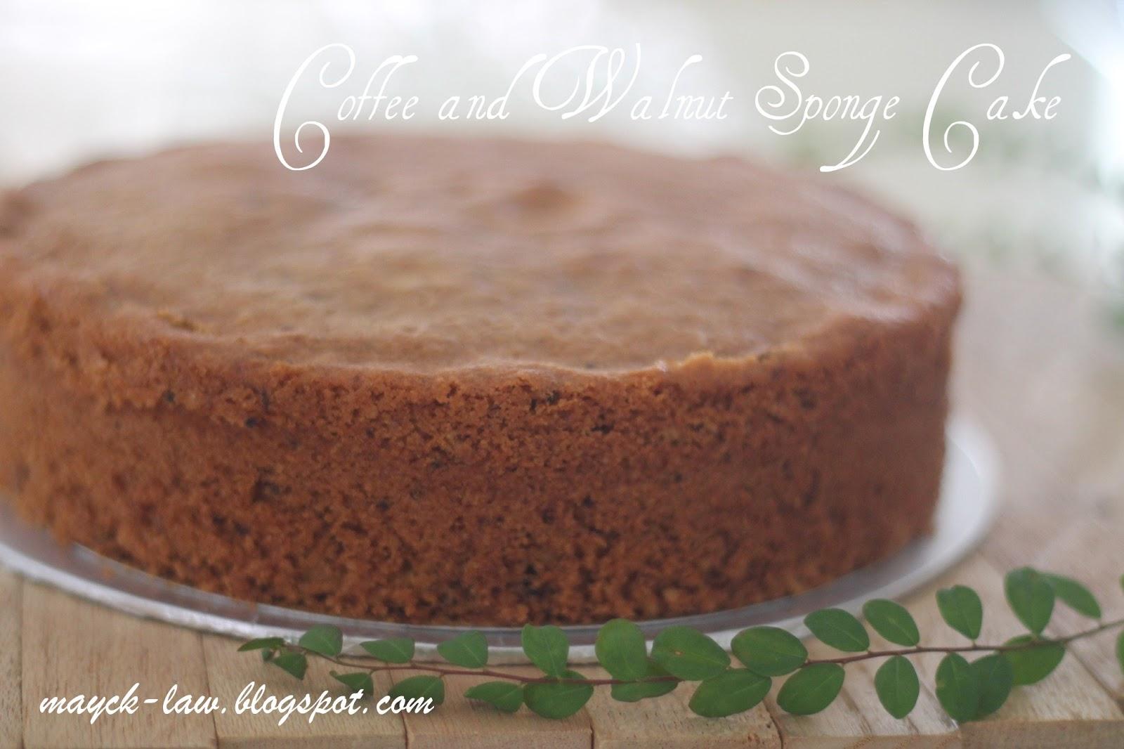 Recipe Coffee Walnut Cake Delia Smith