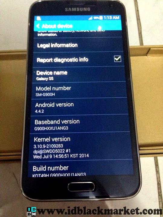 Samsung supercopy S5 hitam