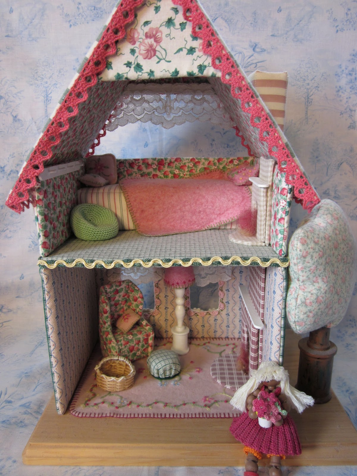Amigurumi Doll House : By Hook, By Hand: Tiny Dollhouses