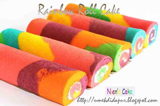 Rainbow Roll cake for ci Zendy