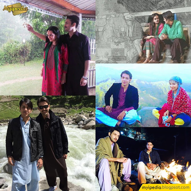 A love Story of a Kashmiri Girl - Neelum Kinarey On Location Pictures