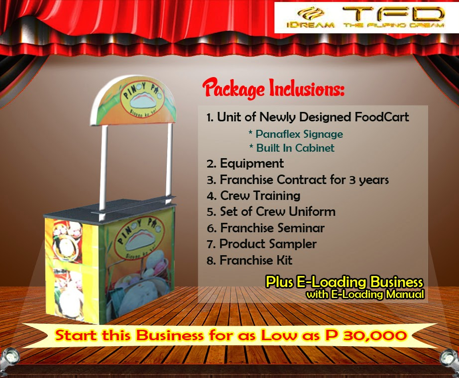 Foodcart For Franchise - A Siopao Food Concept Offered in the Philippines.