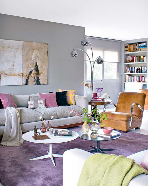 decoracao de sala lilas:Living Room Interior Design