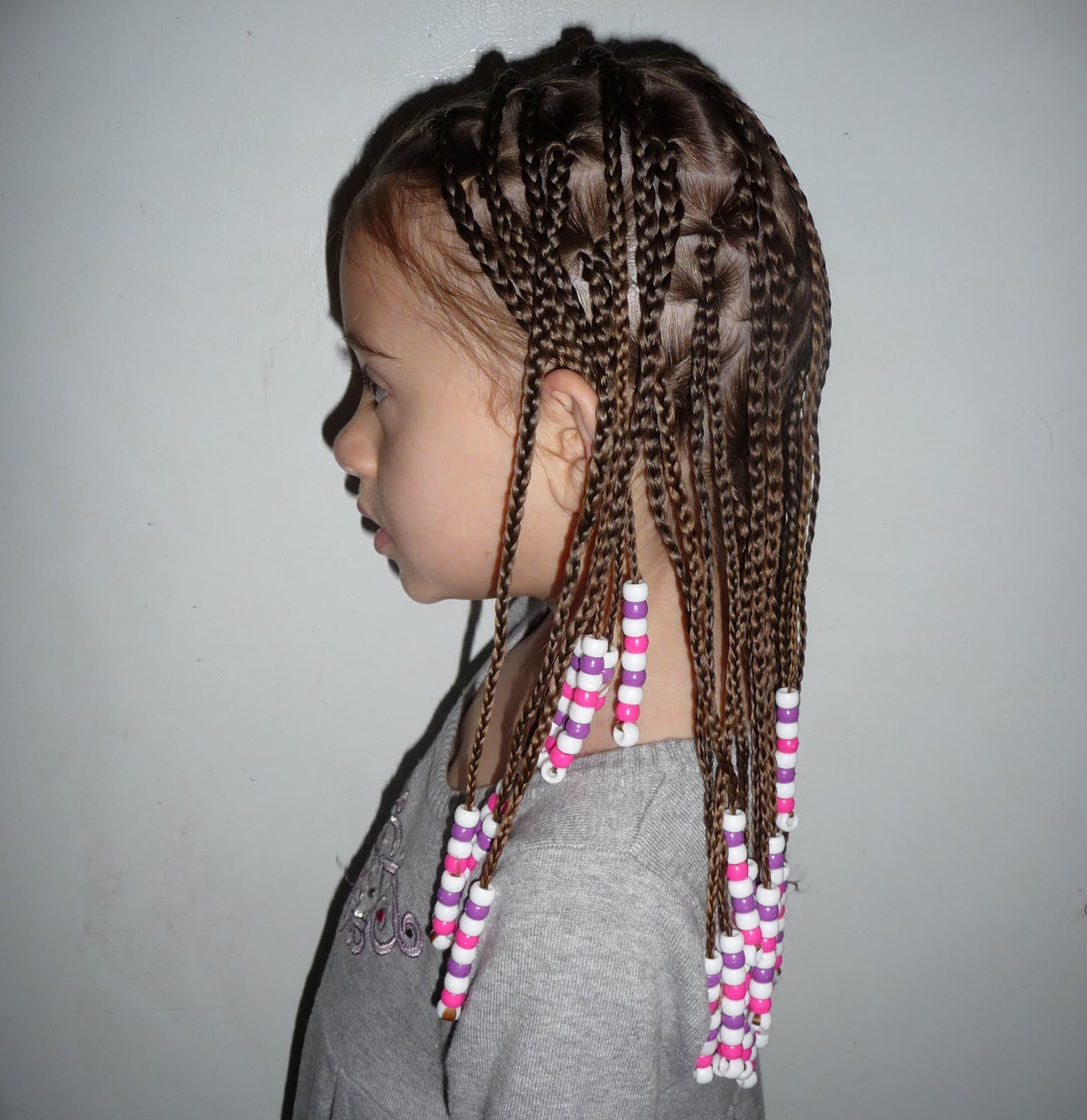Keyative styles july 2011 side cornrows into box braids ccuart Gallery