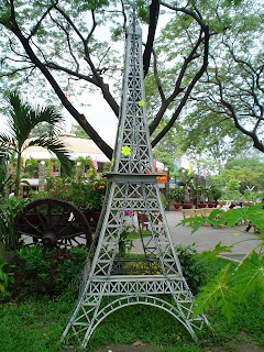 Eiffel Tower. Park Ho Chi Minh City (Vietnam)