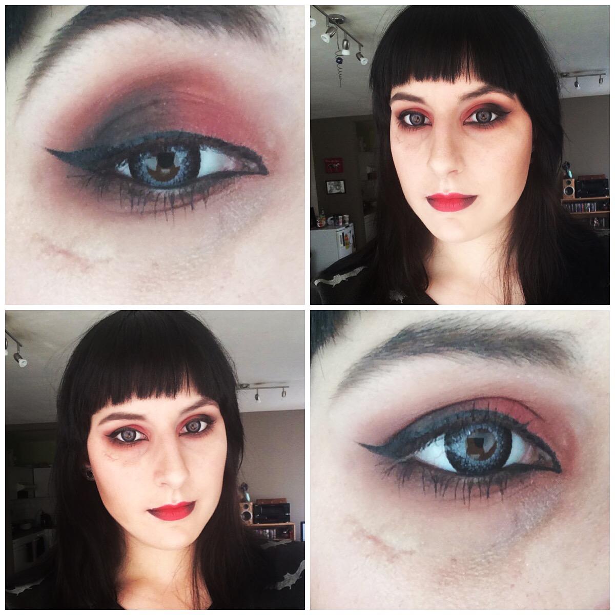 Orphea333 Soft Goth Makeup Tutorial