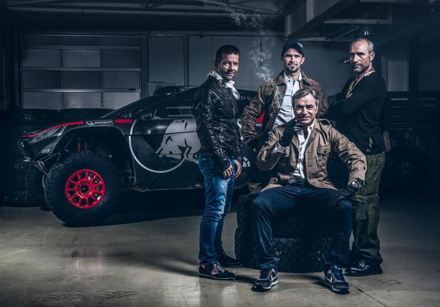 """Sebastien """"Faceman"""" Loeb se une a la Brigada de Peugeot del Dakar"""