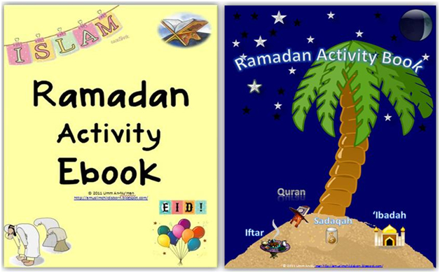 a muslim child is born ramadan activity book for kids