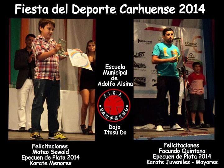 REGRESO A CARHUE LA FIESTA DEL DEPORTE - 28/01/2014