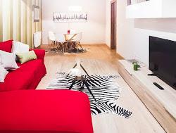 Piso amueblado de dos dormitorios en alquiler en Atocha, garaje. 900€