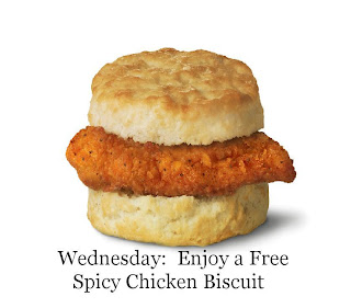... Madness: Free Spicy Chicken Biscuits and .91 Chicken Sandwiches