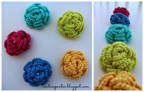Pregadeiras em crochet