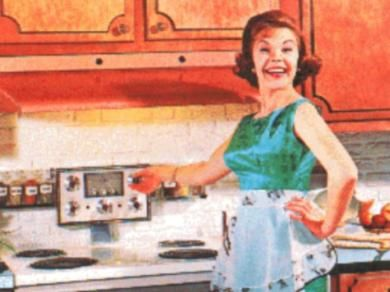 Make up bellezza e consigli di stile la moda anni 39 50 1 - Cucina americana anni 50 ...