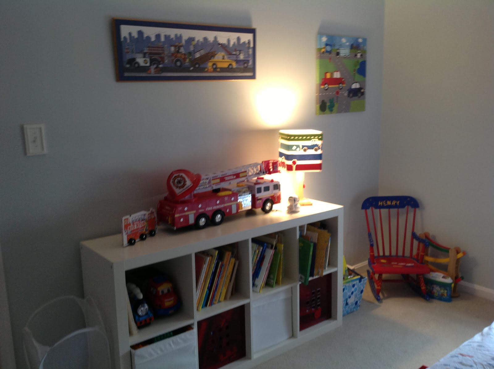 What to Expect when You Aren\'t Expecting: Henry\'s Big Boy Room- UPDATE