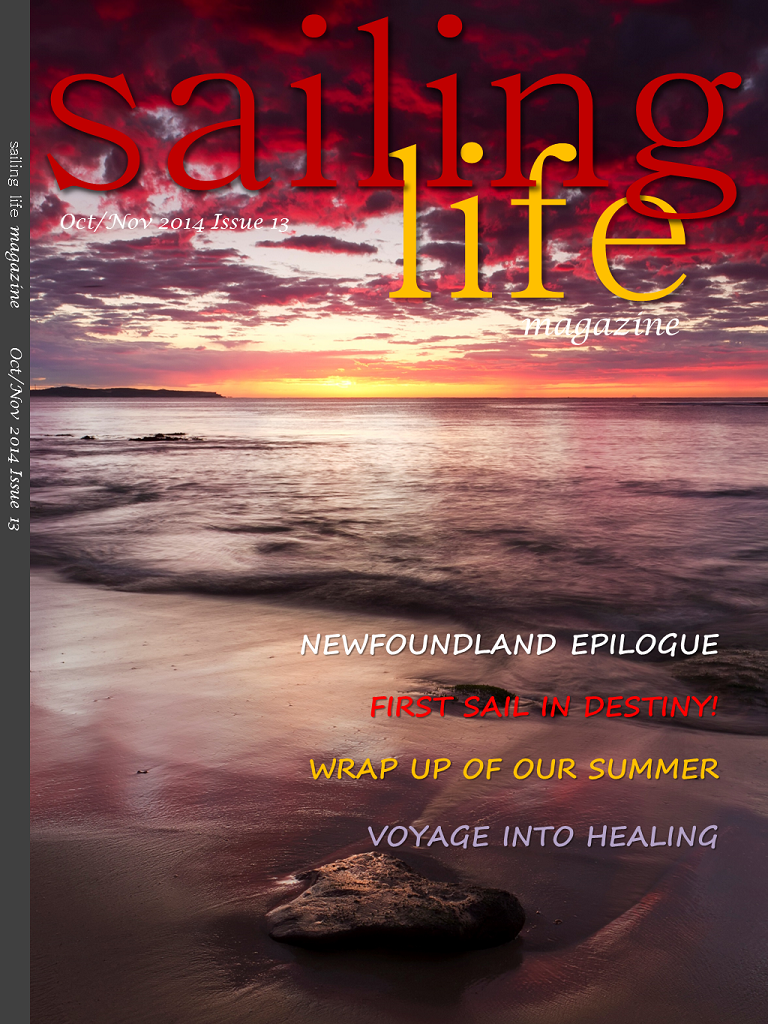 Sailing Life Magazine - Available on Apple's Newsstand !!