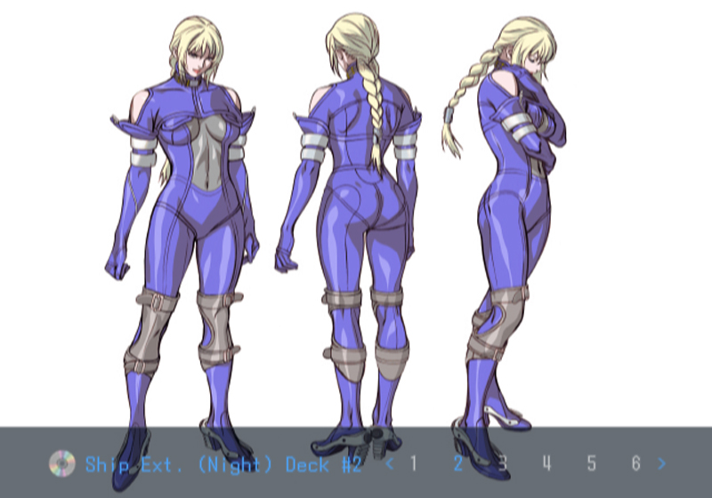 Death by Degrees Nina Williams Character Design