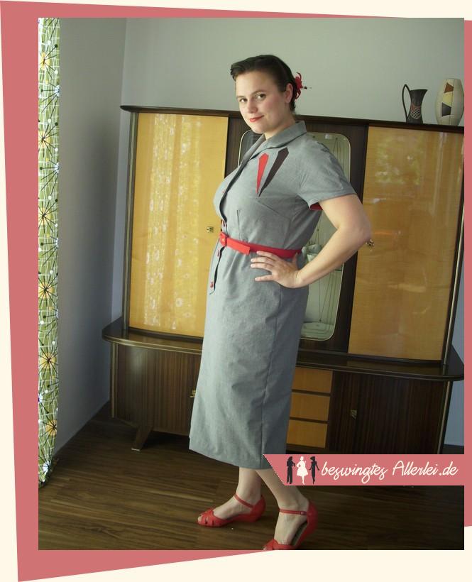 50er Jahre, Kleid, Dress, 50s