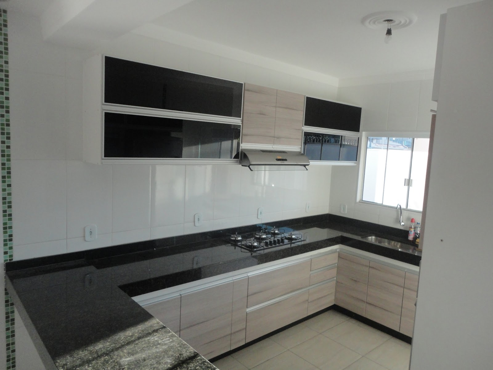 Cozinha Planejada: praticidade e beleza! #4A5157 1600 1200