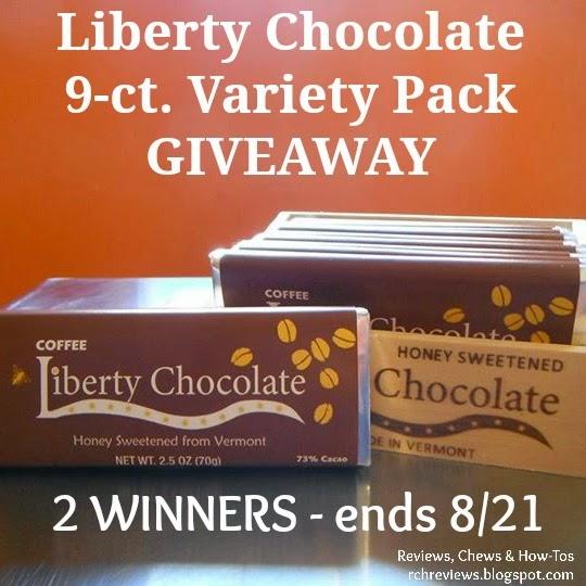 Liberty Chocolate Variety Pack