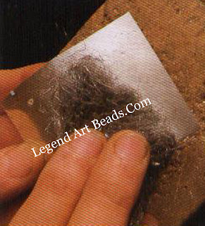 Giving a matte finish  Using steel wool with liquid detergent gives a fine, matte finish.