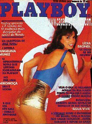 Confira as fotos da atriz Lidia Brondi, capa da Playboy de julho de 1980!