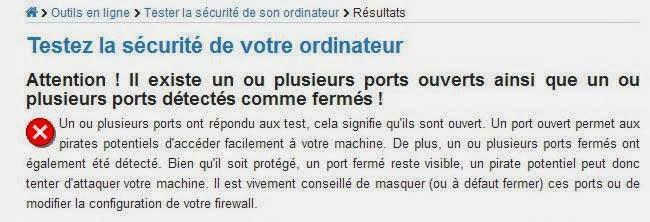موقع فرنسي لفحص منافذ جهازك القابلة للاختراق
