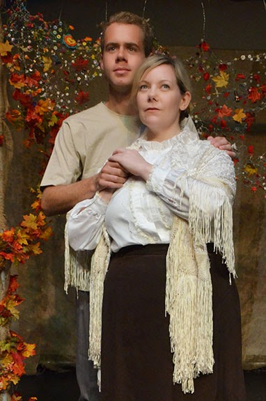 "Nathan Carroll and Cara Pantalone in ""In Flanders Fields"""