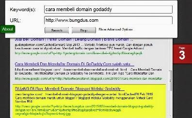 cara cek posisi website atau blog di google