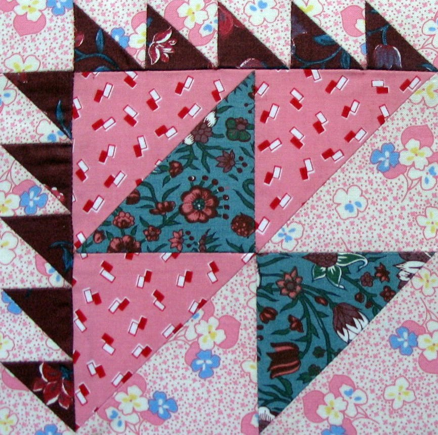 Starwood Quilter: Birthday Cake Quilt Block