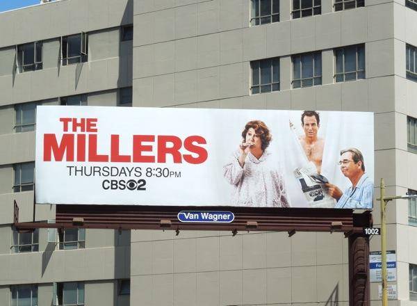 Millers CBS sitcom billboard