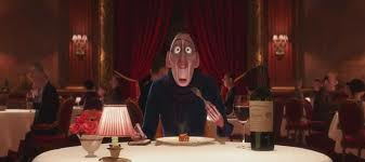 Food critic Anton Ego voiced by Peter O'Toole in Ratatouille animatedfilmreviews.filminspector.com