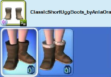 bad size boots sims 3