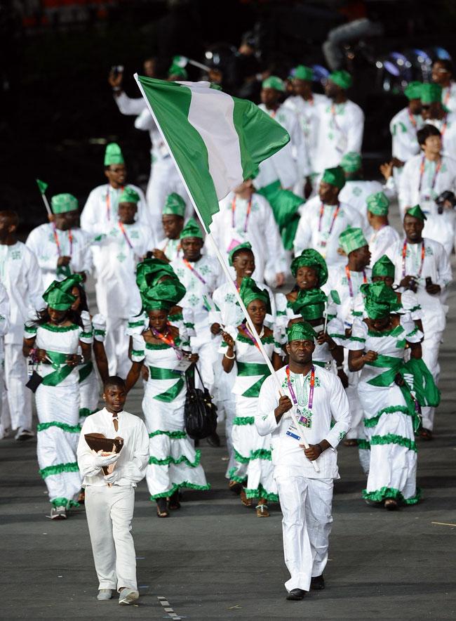 london 2012 olympics nigeria