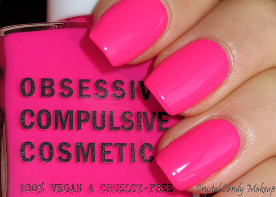 Vernis à ongles Anime d'Obsessive Compulsive Cosmetics - OCC Nail Lacquer - Review - Swatch