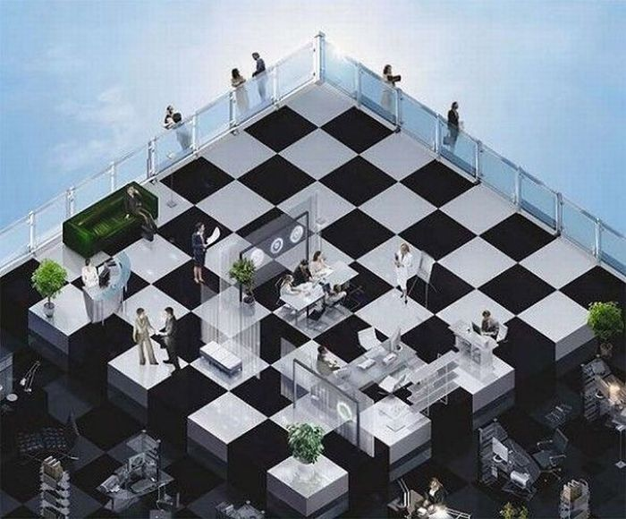 Roof Floor Optical Illusions Pictures