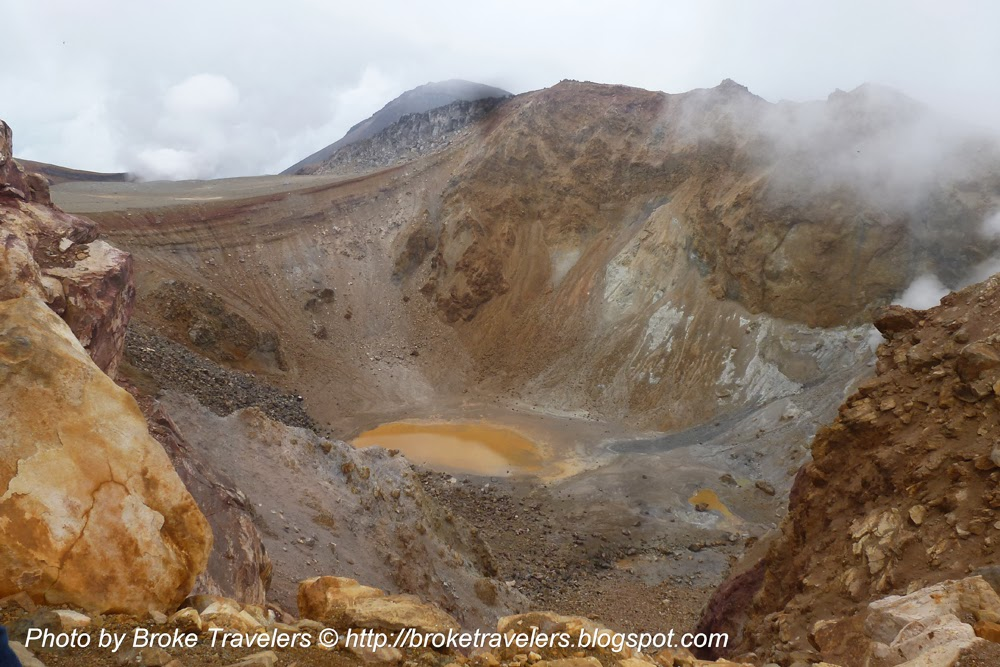 Hokkaido volcano