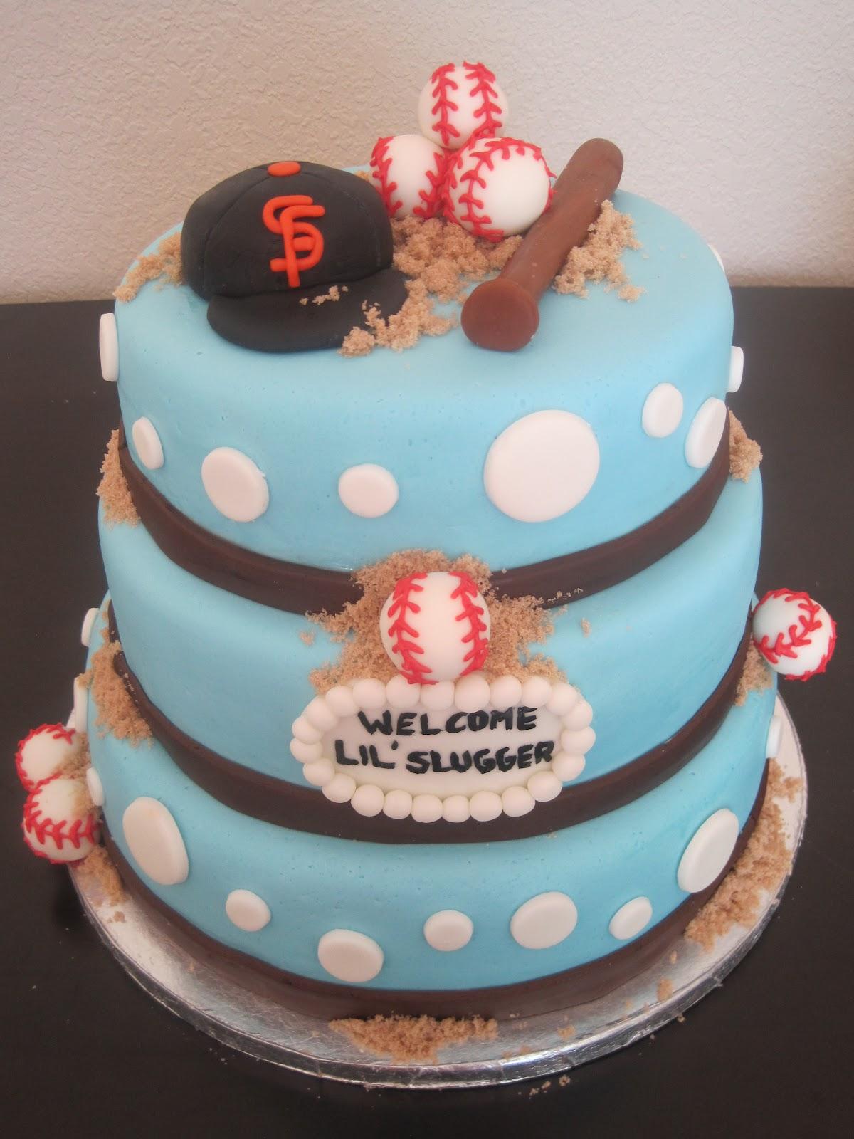 Your Happy Baker Lil Slugger Baby Shower