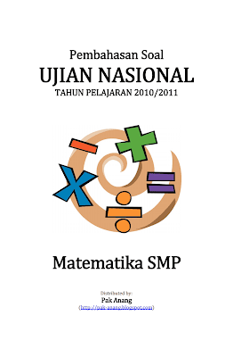Pembahasan Soal Un Matematika Smp 2011