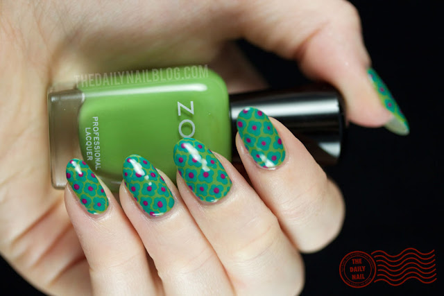 Zoya Island Fun nail art