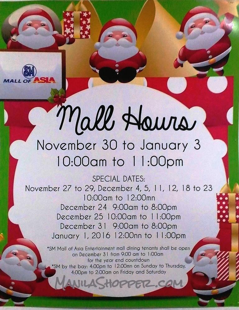 Manila Shopper: Major Malls, Supermarkets & Theme Parks Holiday ...