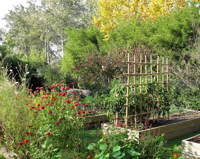 En el jardin oto o a pleno for Arcones de jardin