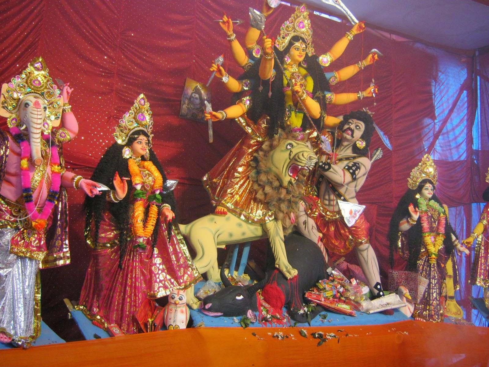 Jambari Sarbojanin Durga Puja