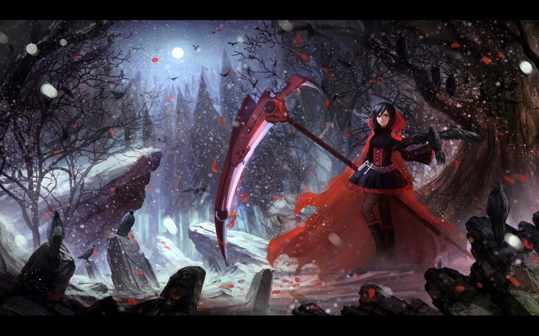 rwby anime scythe wallpaper - photo #24