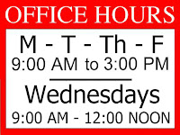 SSA new office hours