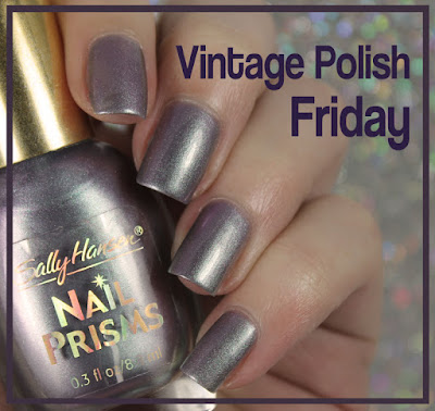 Vintage Polish Friday: Sally Hansen Nail Prism in Lapis Amethyst