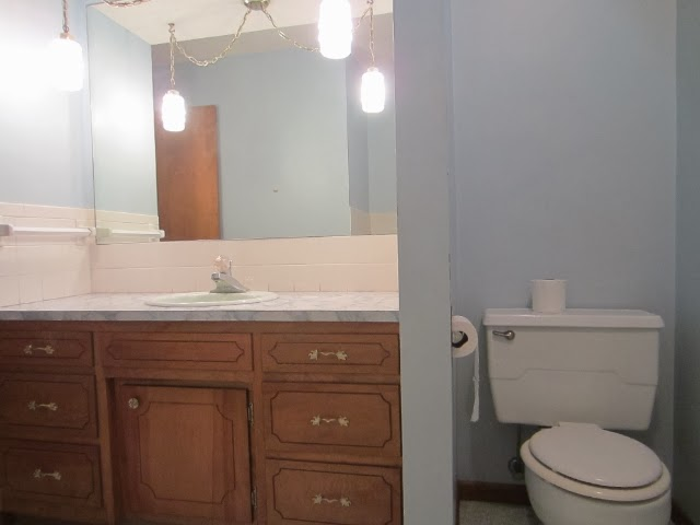 Countertop Paint Canadian Tire : ... Cabinet And Updated Flooring I Also My Countertop Using This Method