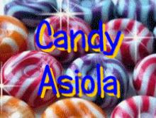 candy - papierowe wariacje Asiola