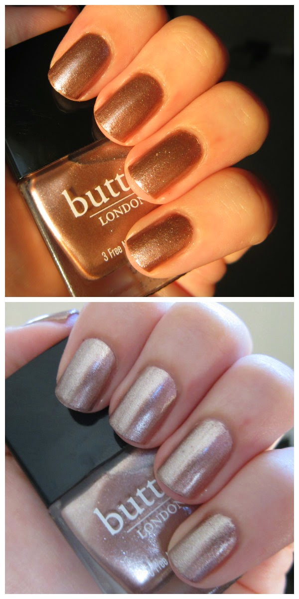 Butter London Nail Lacquer, Champers Swatch